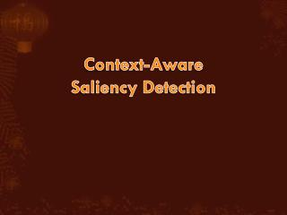 Context-Aware Saliency Detection