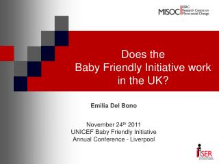 Does the Baby Friendly Initiative work in the UK?