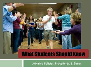 What Students Should Know