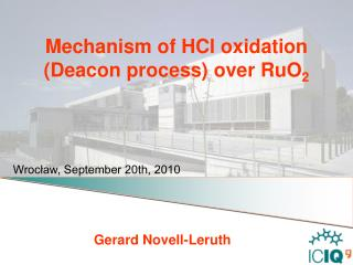 Mechanism of  HCl  oxidation (Deacon process) over RuO 2