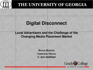 Digital Disconnect Local Advertisers and the Challenge of the Changing Media Placement Market