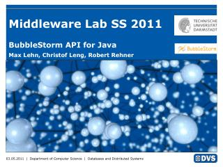 Middleware Lab SS 2011