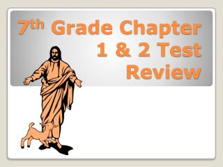 7 th  Grade Chapter 1 & 2 Test Review