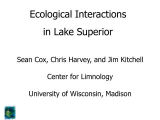 Ecological Interactions  in Lake Superior