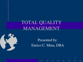 understanding total quality management