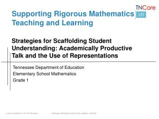 Supporting Rigorous Mathematics Teaching and Learning