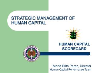 STRATEGIC MANAGEMENT OF HUMAN CAPITAL