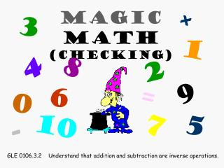 Magic  Math (Checking)
