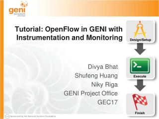 Tutorial:  OpenFlow  in GENI with Instrumentation and Monitoring