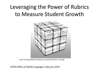 Leveraging the Power of Rubrics to Measure Student Growth