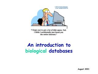 An introduction to  biological databases
