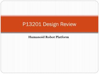 P13201 Design Review