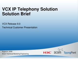 VCX IP Telephony Solution Solution Brief