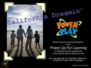 Another get-you-moving Energizer  from Power Up For Learning A Physical Activity Supplement  to the School Idea  Resourc