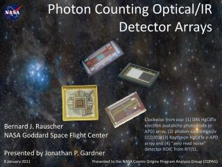 Photon Counting Optical/IR Detector Arrays