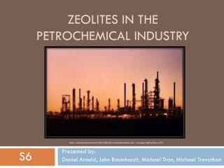 Zeolites in the petrochemical industry