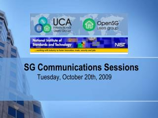SG Communications  Sessions