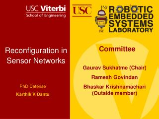Reconfiguration in Sensor Networks