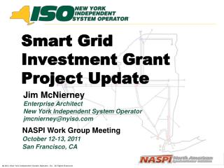 Smart Grid Investment Grant  Project Update