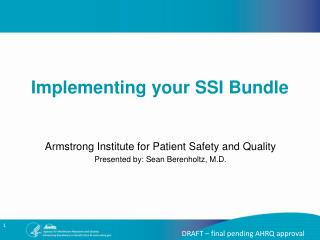 Implementing your SSI Bundle