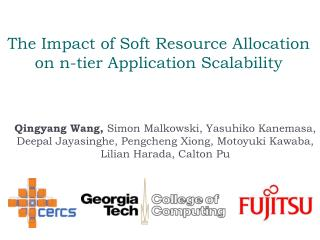 The Impact of Soft Resource Allocation on n-tier Application Scalability