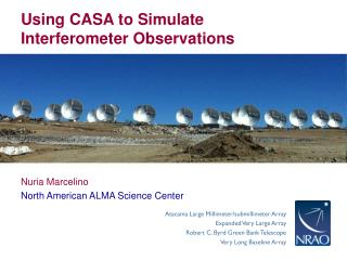 Using CASA to Simulate Interferometer Observations