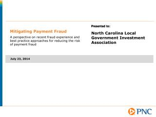 Mitigating Payment Fraud