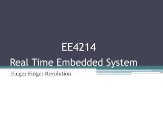 Real Time Embedded System