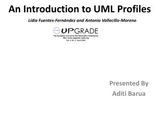 An Introduction to UML Profiles
