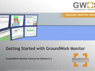 Getting Started with GroundWork Monitor