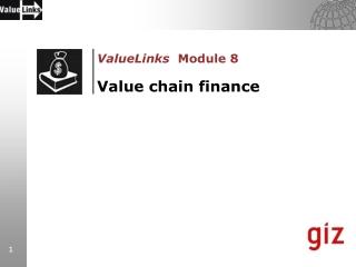 Warehouse Receipt Finance