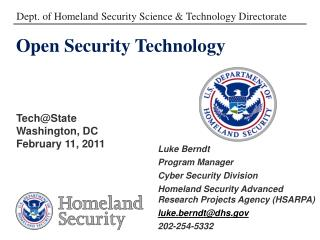 Open Security Technology