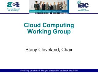 Cloud  Computing Working Group