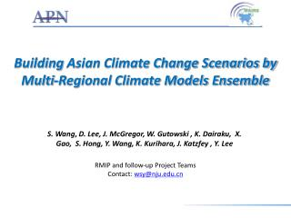 Building  Asian Climate Change Scenarios by Multi-Regional Climate Models Ensemble