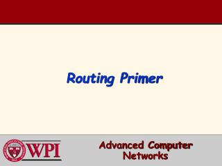 Routing Primer