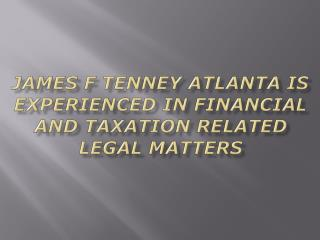 Jim Tenney Atlanta