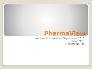 PharmaView