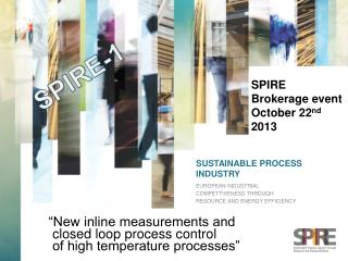 SUSTAINABLE PROCESS INDUSTRY