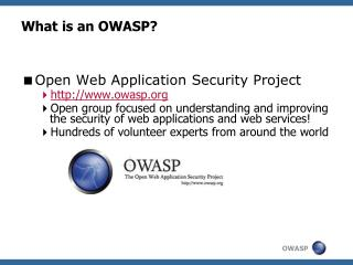 What is an OWASP?