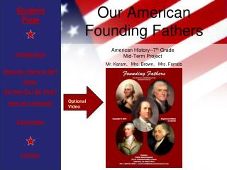 Our American  Founding Fathers