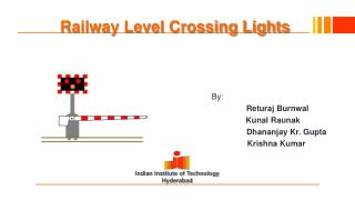 Railway Level Crossing Lights