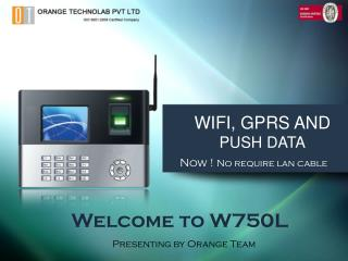 WIFI, GPRS AND  PUSH DATA