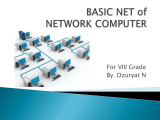 BASIC NET of NETWORK COMPUTER