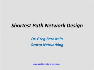 Shortest Path  Network Design