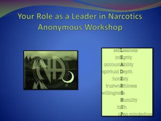 Your Role as a Leader in Narcotics Anonymous Workshop