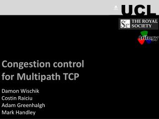 Congestion control  for Multipath TCP (MPTCP)