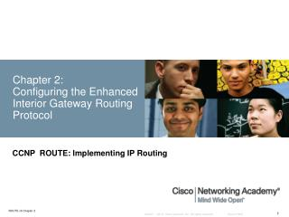 Chapter 2:  Configuring the Enhanced Interior Gateway Routing Protocol