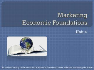 Marketing Economic Foundations