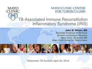 TB-Associated Immune Reconstitution Inflammatory Syndrome (IRIS)