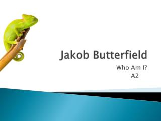 Jakob  Butterfield